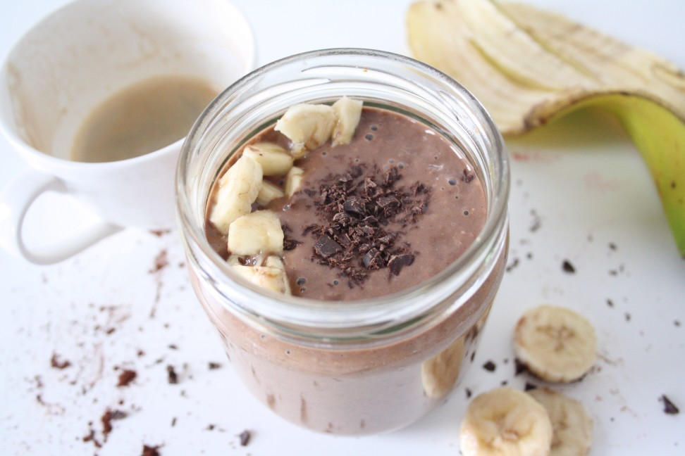 Perfect Mocha Coffee Protein Smoothie